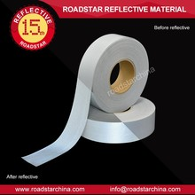 RS-833 high silver T/C backing reflective fabric