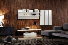 High garde modern living room wooden cabinet solid wood display cabinet