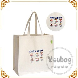 Heat Transfer Printing Nature Color Tote Cotton Bag