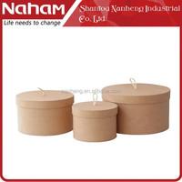 NAHAM House Ogranizer Gift/Jewelry Storage Gift Paper Round Box
