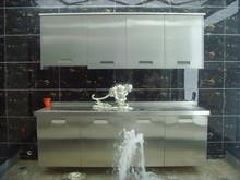 metal kitchen cabinets design ,stainless steel 304 kitchen cabinet