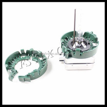 auto plastic clips and retainers removable base for hid xenon bulb d1s d2s