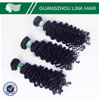 New arrival discounting hot sell short hair brazilian curly weave
