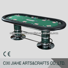 96 polegada marbre fini table de poker