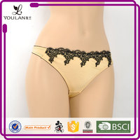 Factory Direct Sale Wide Style Female Lace Trim Sexy Teen Lingerie