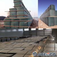 hesco welded gabion blast wall price