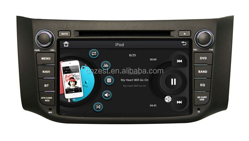 Car Stereo For Nissan Almera Double Din Car Radio Stereo System With ...
