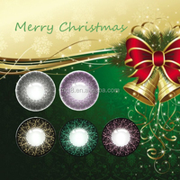 Soft pink violet circle eyewear christmas contact lenses