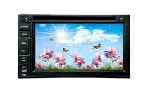 HD touch screen 2 DIN 6.2 inch car dvd with GPS/2 din car stereo dvd gps/double din in dash car dvd