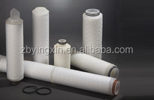 The nylon membrane fold cartridge filter for food aseptic filtration