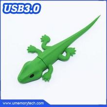 Bulk stock cheap usb flash drive lizard shape name printed pen drive 100% genuine 8gb pendrive