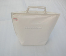Promotional outdoor easy carry portable non woven cooler bag for keep tempreture