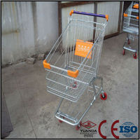 grocery shopping carts for sale supermarket shopping use With handle Wheels And Baby Seats With Suzhou Factory Wholesale Price