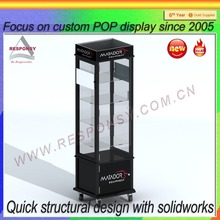 tall glass display case jewelry glass display cabinets