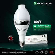 High Brightness 80w high power led high bay lighting Low Junction Temperature with Meanwell driver light bulb led