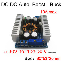8A DC DC constant current and constant voltage converter Automatic boost/buck Car solar wind battery power charging LED Driver