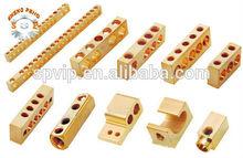 China cnc personalizados piezas de latón