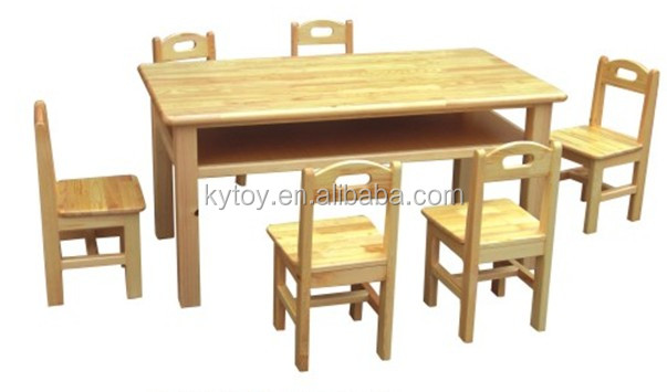 Practical Children Wood Table And Chair Used Daycare Furniture Sale Kids Furniture Buy Used