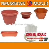 Different types of injection plastic flower pots mould for garden use in Zhejiang