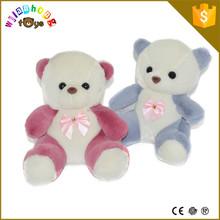 22 cm de pelúcia pequeno urso de pelúcia com laço de pelúcia brinquedos de pelúcia urso de pelúcia barato