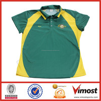 100% polyester sports dri fit customized sublimation polo shirts wholesale with pocket POLO-210
