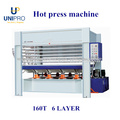 máquina de prensagem a quente máquina para trabalhar madeira para porta de madeira