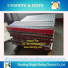 Fire retardant UHMWPE impact slider bed bars/UHMWPE conveyor impact bed bar/UHMWPE impact strip