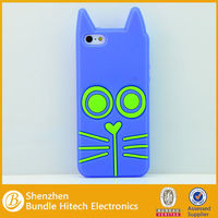 silicon thick phone case for iphone 5s,custom made silicone case for iphone5