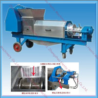 Electric Automatic Double screw extractor Machine /stainless steel grape press machine