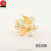 Unique leaf Shape gold Rings Aladdin latest gold ring designs Egyptian Engagement Rings