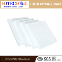 competitive advantage in price zibo hitech 10mm refractory board for refining furnace