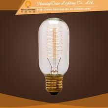 Latest edison bulb T45 hanging metal light pendant