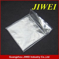 clear original plastic opp bag with self adhesive for stationery