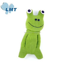 LMT-WZWW-85 Accept paypal frog stuffed fabric toy