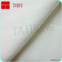 cheap bedding 1cm white striped fabric manufacturer &wholesales