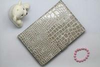 Bag type Crocodile leather case for ipad mini