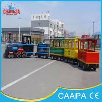 Park Tourist Big Electrical Train Amusement Equipment