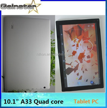10.1inch Tablet PC allwinner A33 android 4.4
