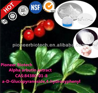 Cosmetic raw material and whitening alpha arbutin,alpha arbutin extract,arbutine+alpha