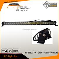 120w single row CREE LED work light bar combo 4WD boat UTE driving ATV lamp