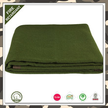 BSCI SEDEX 100% recycled material polyester cheap army military blankets