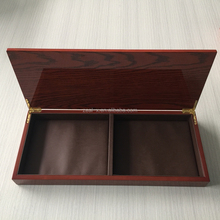 High End Handmade Wood Gift Box For VIP Custom With Gift Packing, Custom Logo Printing On The Wood Box With Insert