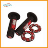 Hot sale rubber cover plastic handles hand grip for Red