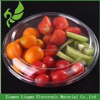 Disposable plastic PET fruit/dry fruit/salad packaging box