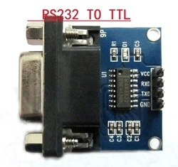 for sale Serial port module RS232 to TTL module with send and receive LEDs 232 level modules