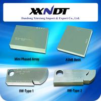 Ultrasonic Calibration Test Blocks IIW Type1, IIW Type 2, Mini phased array, ASME