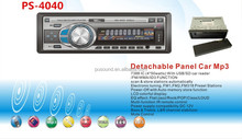 pioneer car audio with USB SD ,front and back AUX IN slots
