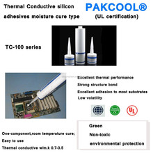 Strong structure bond thermal conductivity LED of One-component gel 0.5 W/m.K
