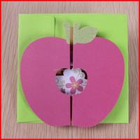 china banquet handmade folding paper card