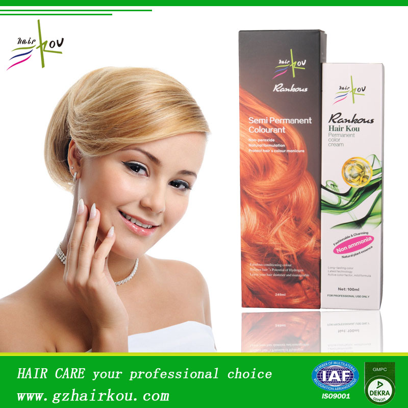 Professional Italian Hair Color Brands Wholesale Hair Color Cream